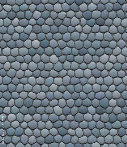 . cobblestone pavement seamless texture  Stock photo and royalty free