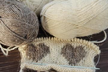 Knitting pattern, Skein of Threads