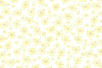 yellow sun flower texture background for peace meditation spa health freedom nature concept background