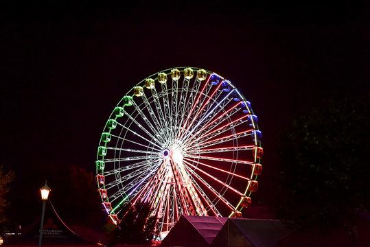 State Fair Amusement Park Ride