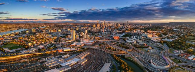 Brisbane City and suburbs