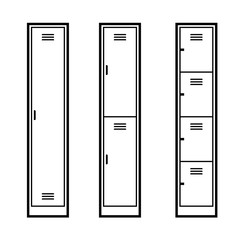 Metal Lockers set