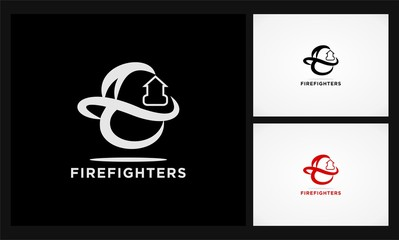 firefighters icon logo