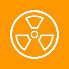 Vector Radioactive symbol