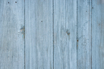 Texture. Old blue painted wooden Board