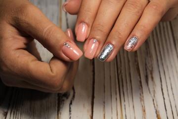 Amazing natural nails.