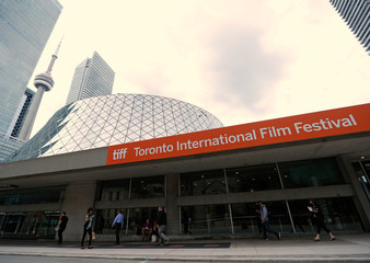 Roy Thomson Hall  and the CN Tower are pictured ahead of the Toronto International Film Festival (TIFF), in Toronto,