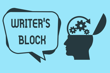 Word writing text Writer s is Block. Business concept for Condition of being unable to think of what to write.