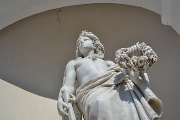 white religious statue