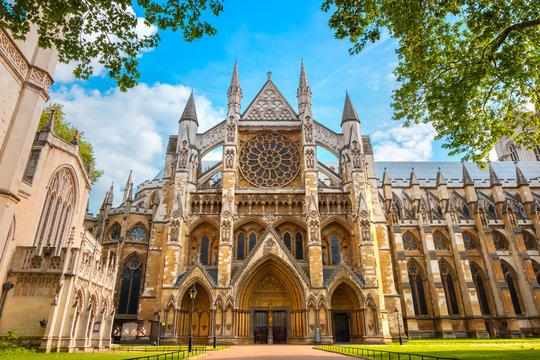 Westminster Abbey Church in London, UK