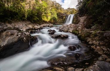 Tawhai Falls in Tongariro National Park New Zealand 3