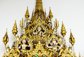 Traditional Thai Style Deity and God Statue
