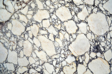 marble pattern texture background. Texture of ancient column in Istanbul, Turkey. Close up