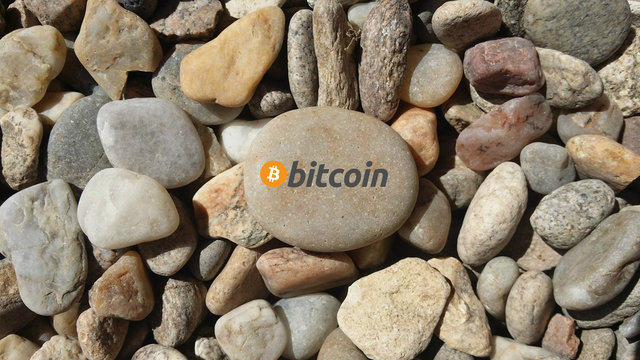Crypto-stones: Bitcoin