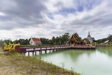Pa Lahan Sai temple , Buriram Province , Thailand