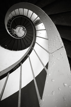 spiral staircase architectural element
