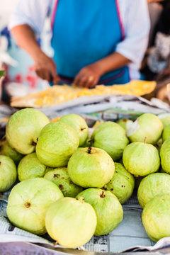 Ripe green guava