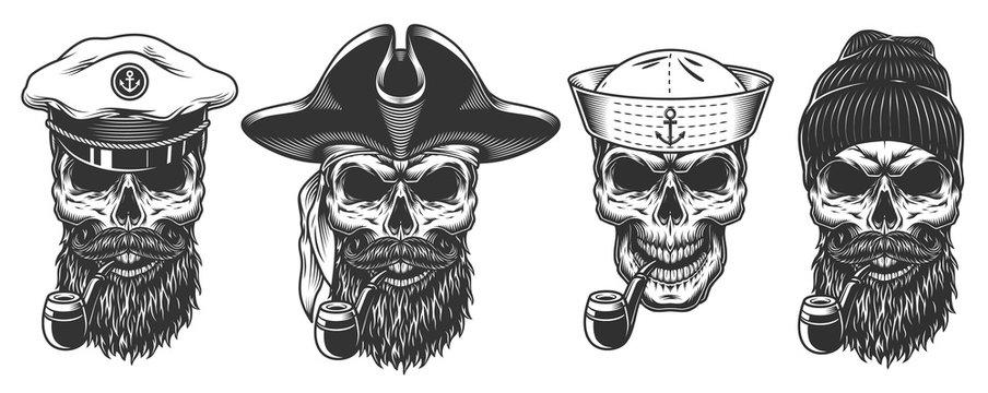 Set of sailors.