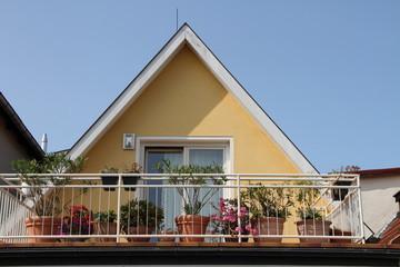 begrünter Balkon 2