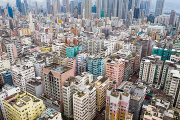 Hong Kong in kowloon side