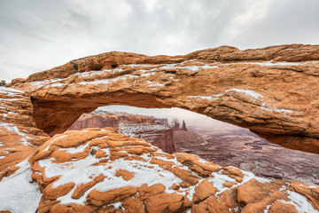 Wall Mural -  Famous Mesa Arch