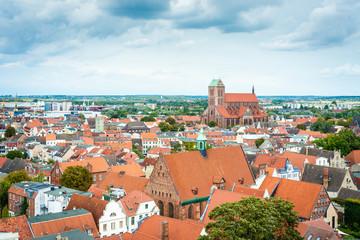 Church St. Nicholas in Wismar, Germany.