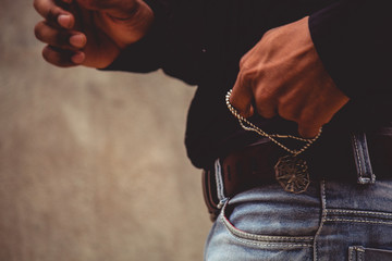 Hands on jeans