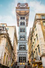 Lisbon, the Portuguese capital: Elevador de Santa Justa