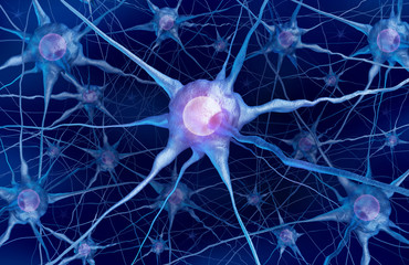 Neuron Scientific Concept