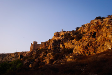 Punta de la alcazaba