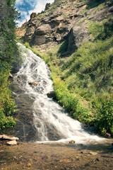Rex Falls. Rio Grande National Forest,  Colorado, US
