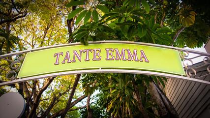 Schild 339 - Tante Emma