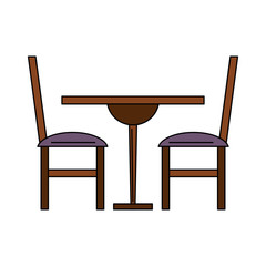 dinning wooden table and chairs