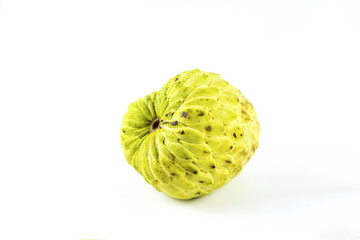 Custard apple fruit delicious sweet desserts or made into a juice and cooking are popular with the general public and health benefits