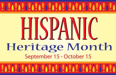 Hispanic Heritage Month  Fotomurales