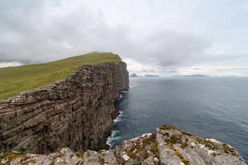 Slave's Rock, Vagar, Faroe Islands