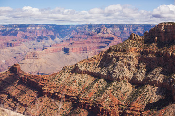 Scenery of the Grand Canyon National Park,.Arizona. Beautiful Landscape Scenery