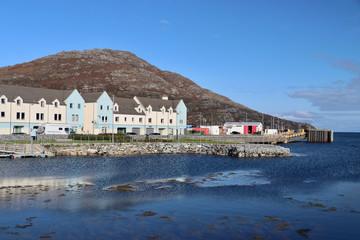 Foto auf Leinwand Port Hafen von Lochboisdale, Süd-Uist, Hebriden