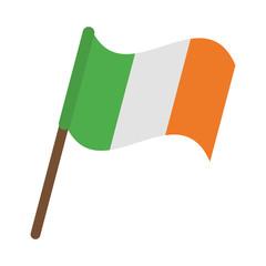 Irish flag pole