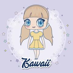 kawaii girl icon