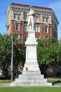 Confederate Memorial in Macon Georgia
