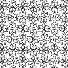 geometric figures monochrome background