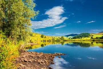 The River Small Kaim. Mountain Altai