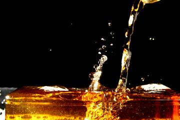 Water splash as background