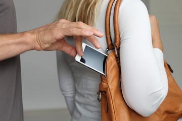 Taschendiebstahl Handy