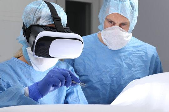 OP mit Virtual Reality Brille