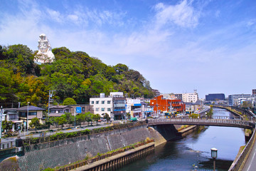 大船駅西口の風景
