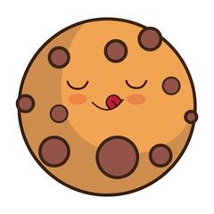 kawaii cookie icon