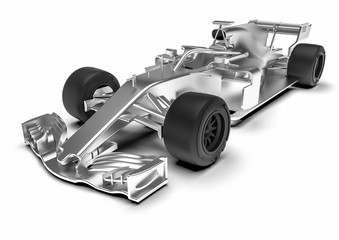 Keuken foto achterwand F1 F1 car radiography / 3D render of an F1 car