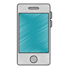 smartphone device isolated icon